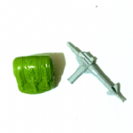 GI Joe 1985 Lady Jaye  v1 backpack gun parts @sold@